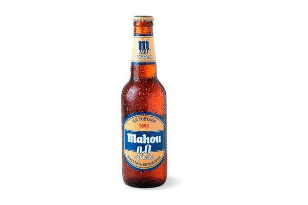 Cerveza MAHOU Tostada 0.0% Botella 330 ml en Tienda Inglesa