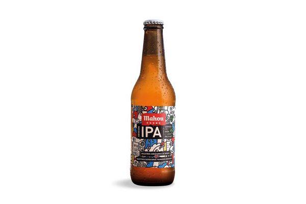 Cerveza MAHOU 5 Estrellas Ipa Botella 330 ml en Tienda Inglesa