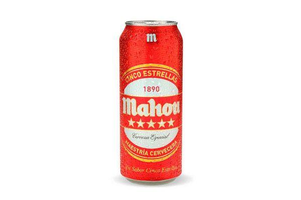 Cerveza MAHOU 5 Estrellas Lata 500 ml en Tienda Inglesa