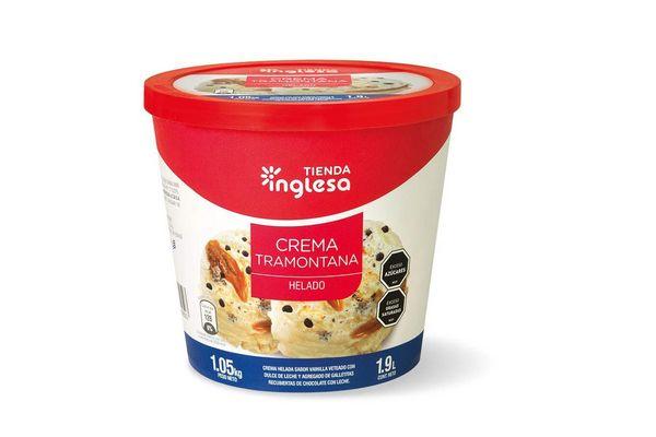 Helado Crema Tramontana TIENDA INGLESA 1.9 L en Tienda Inglesa