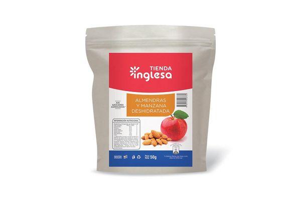 Manzanas con Almendras Deshidratadas TIENDA INGLESA 50 gr en Tienda Inglesa