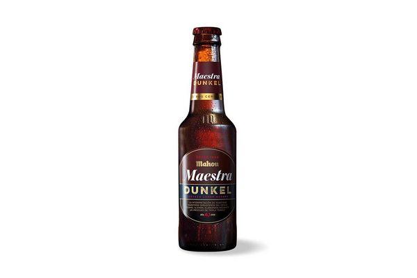 Cerveza MAHOU Dunkel Botella 330 ml en Tienda Inglesa