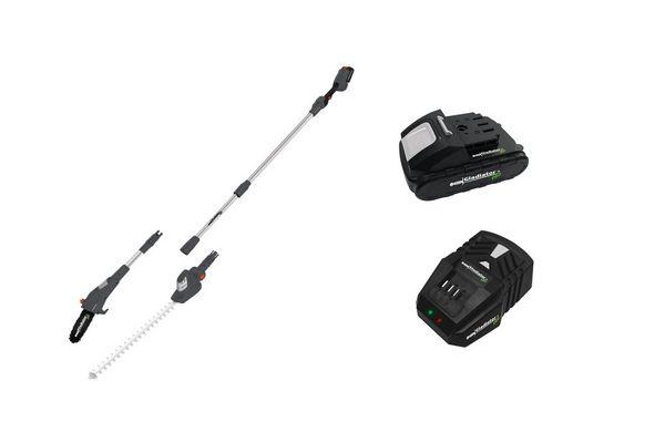 Electrosierra y Cortacerco 2 en 1 a Distancia GLADIATOR PRO + Batería 2 ah + Cargador en Tienda Inglesa