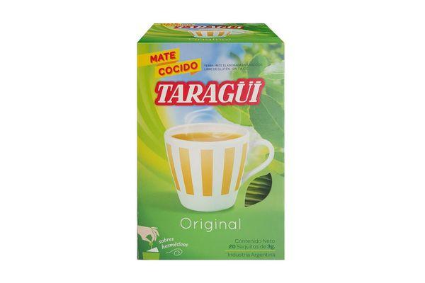 Mate Cocido TARAGUI 20 Saquitos en Tienda Inglesa