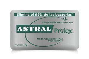 Jabon de Tocador ASTRAL Protex Antibacterial Plata 125gr en Tienda Inglesa