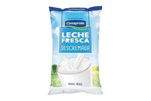 Leche CONAPROLE Fresca Descremada Sachet 1l en Tienda Inglesa