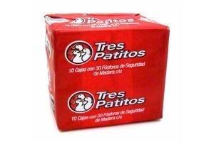Fósforos TRES PATITOS cubo x 10 cajas en Tienda Inglesa