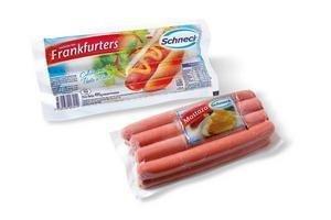 Frankfurters Largos SCHNECK x 8 Envasados al Vacío 490 Gr en Tienda Inglesa
