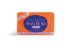 Jabón de Tocador con Glicerina Neutro ANN BOW 140 gr en Tienda Inglesa