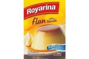 Flan ROYARINA Doble sabor Vainilla 54g en Tienda Inglesa