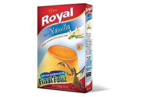 Flan ROYAL Doble de Vainilla 120g en Tienda Inglesa