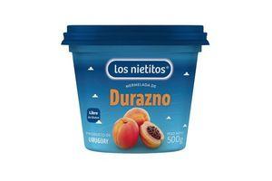 Mermelada LOS NIETITOS sabor Durazno Pote 500g en Tienda Inglesa