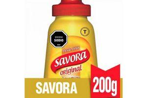 Mostaza SAVORA Envase Flexible 200 gr en Tienda Inglesa