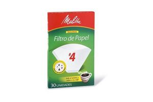 Papel Filtro MELITTA N° 4 Caja x 24 Unidades en Tienda Inglesa