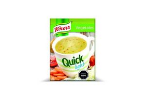 Sopa Light de Vegetales KNORR Quick x 5 Unidades en Tienda Inglesa