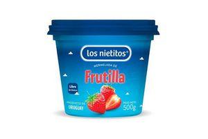 Mermelada LOS NIETITOS sabor Frutilla Pote 500g en Tienda Inglesa