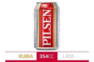 Cerveza PILSEN lata 354ml en Tienda Inglesa