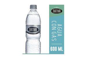 Agua Mineral Natural NATIVA Con Gas 600ml en Tienda Inglesa