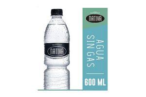 Agua Mineral Natural NATIVA Sin Gas 600 ml en Tienda Inglesa