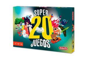 Juego en Caja Super 20 Juegos DIDACTA en Tienda Inglesa