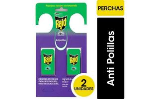 Insecticida Antipolillas RAID Lavanda x 2 Unidades en Tienda Inglesa