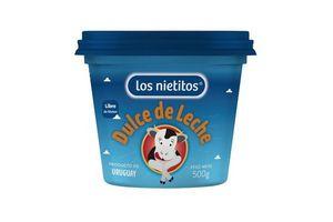 Dulce de Leche LOS NIETITOS 500g en Tienda Inglesa