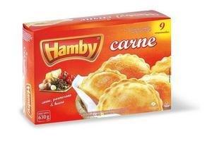 Empanadas Supercongeladas de Carne, Parmesano y Huevo HAMBY x9 630g en Tienda Inglesa