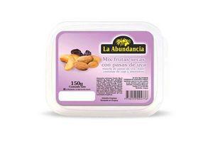 Mix Frutas Secas LA ABUNDANCIA con Pasas Pote 150g en Tienda Inglesa