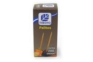 Palillos para Dientes THEOTO Caja x 200 Unidades en Tienda Inglesa