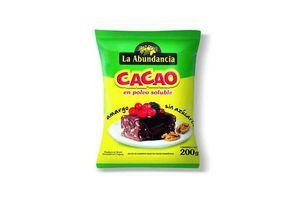 Cacao Amargo LA ABUNDANCIA 200g en Tienda Inglesa