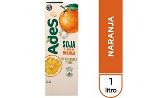 Jugo ADES sabor Naranja 1 L en Tienda Inglesa