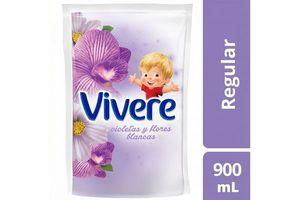 Suavizante VIVERE Perfume de Violetas y Flores Blancas 900ml en Tienda Inglesa