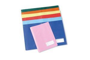 Forro Cuaderno Plastificado Azul en Tienda Inglesa