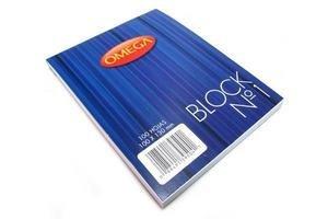Block Nº1 OMEGA Liso Apuntes 100 Hojas 10 x 13 cm en Tienda Inglesa
