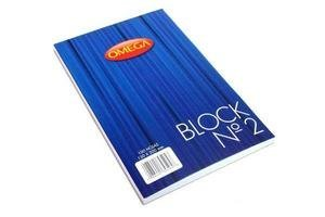 Block Nº2 OMEGA Liso Apuntes 100 Hojas en Tienda Inglesa