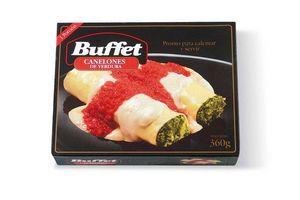 Canelones de Verdura BUFFET 1 Porción 360g ¡Ponto para Calentar y Servir! en Tienda Inglesa