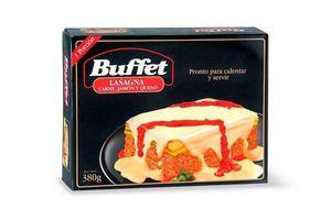 Lasagna de Carne, Jamón y Queso BUFFET 1 Porción 380 gr ¡Ponto para Calentar y Servir! en Tienda Inglesa