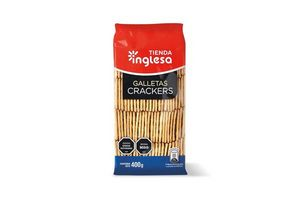 Galletas TIENDA INGLESA Crackers 400g en Tienda Inglesa