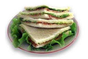 Sándwich de Jamón Crudo y Salsa de Hierbas TIENDA INGLESA por unidad en Tienda Inglesa
