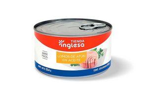 Lomos de Atún en Aceite TIENDA INGLESA 354 gr en Tienda Inglesa