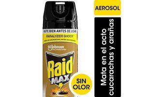 Insecticida RAID Max Cucarachas / Arañas 400 cc en Tienda Inglesa