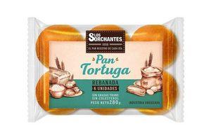 Pan Tortuga LOS SORCHANTES  x6 300g en Tienda Inglesa