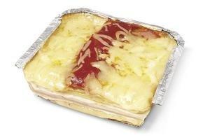 Lasagna de Jamón y Queso por Porción en Tienda Inglesa
