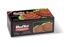 Hamburguesas de Carne BUFFET x 12 Unidades 1Kg ¡Pronto para Cocinar y Servir! en Tienda Inglesa