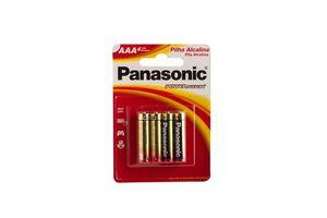 Pila PANASONIC Alcalina AAA x 4 Unidades en Tienda Inglesa