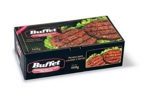 Hamburguesa de Carne BUFFET x 8 Unidades 668g ¡Pronto para cocinar y Servir! en Tienda Inglesa