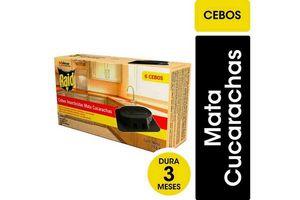 Insecticida RAID 6 Cebos Mata Cucarachas 20.8gr en Tienda Inglesa