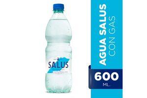Agua Mineral Natural SALUS Con Gas 600ml en Tienda Inglesa