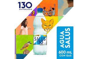 Agua Mineral Natural SALUS Con Gas 600 ml en Tienda Inglesa
