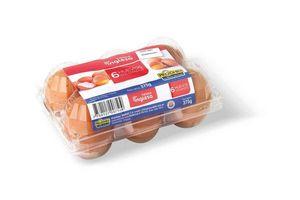 Huevo Colorado TIENDA INGLESA 1/2 Docena en Tienda Inglesa